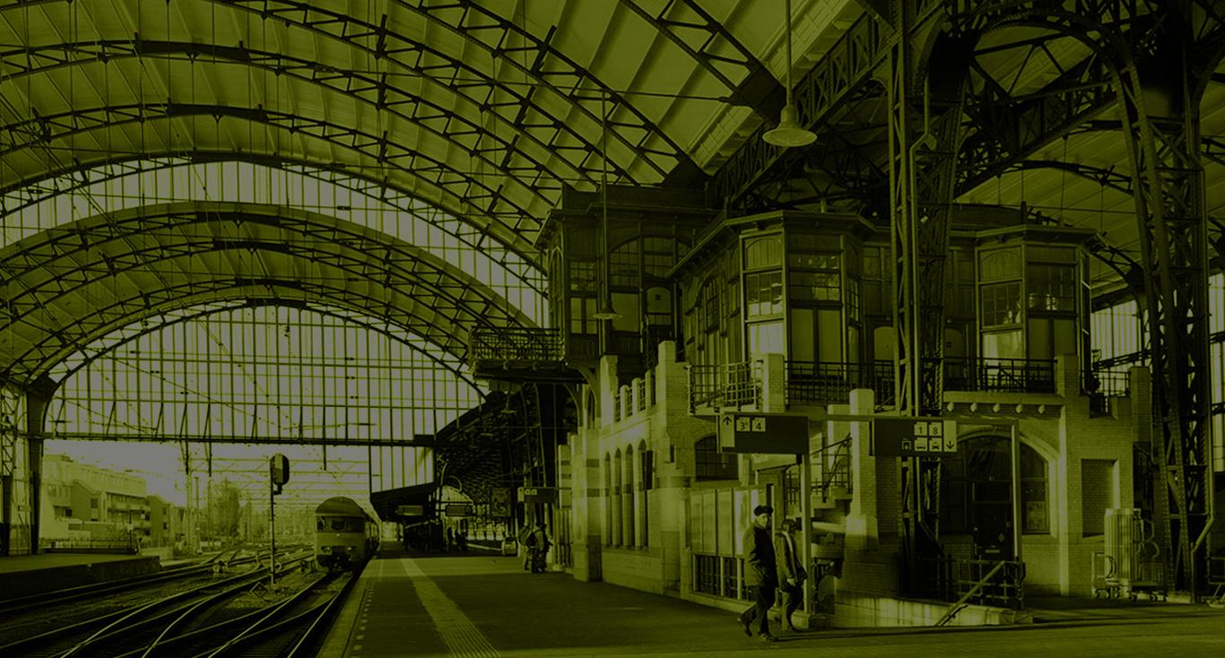Vicstory - foto van Station Haarlem
